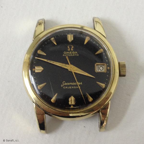 Omega calibre 503 restauración completa reloj Seamaster Danafi
