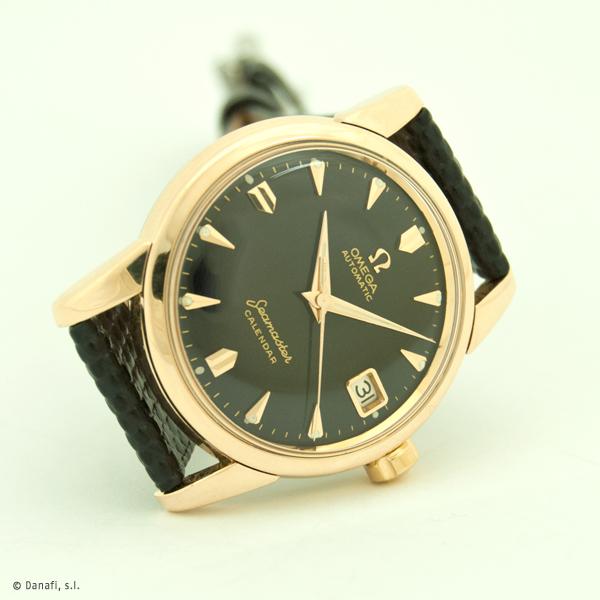 Servcio técnico relojes Omega calibre 503 restauración completa reloj Seamaster Danafi