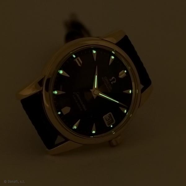Relojero servcio técnico relojes Omega calibre 503 restauración completa reloj Seamaster Danafi