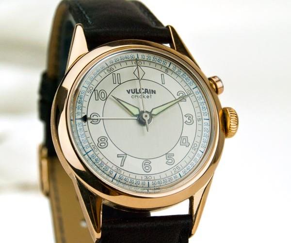 Servicio técnico relojes Vulcain Cricket restauración y reparación reloj Danafi