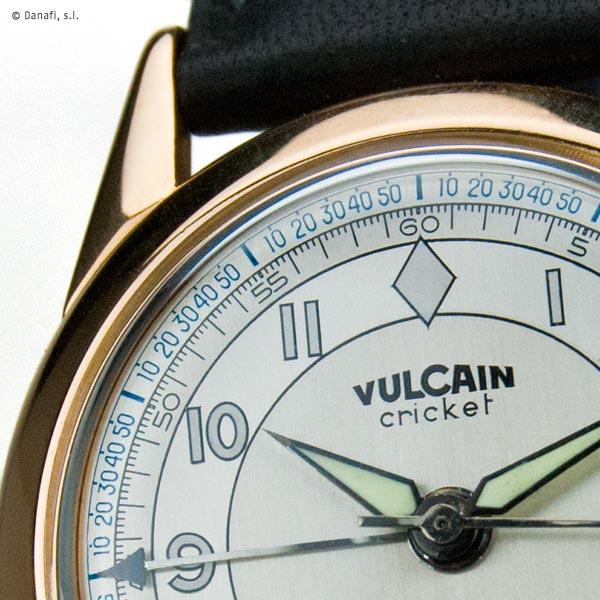 Vulcain Cricket restauración y reparación reloj Danafi