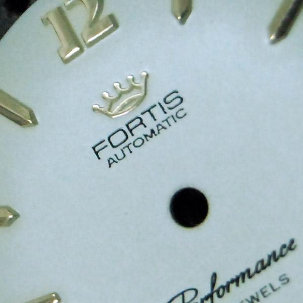 Restaurar esfera reloj Fortis Automatic Performance 21 jewels Swiss Made