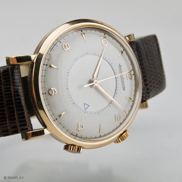 Restauración y reparación reloj antiguo vintage Jeger LeCoultre Memovox reloj despertador_03