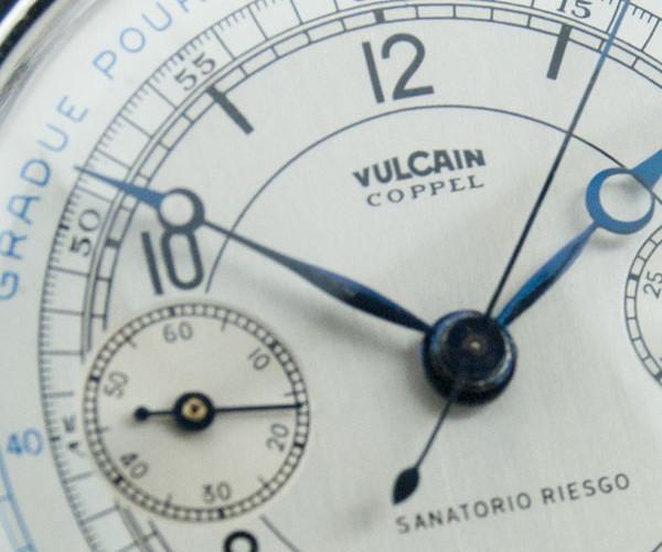 Vulcain Coppel restauración y recuperación reloj cronometro vintage