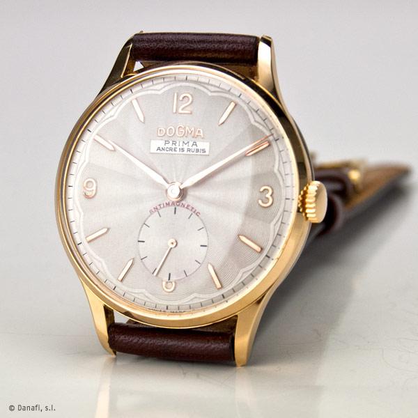 DogmaPrima ancre 15 Rubis Reloj restaurado por Danafi Barcelona