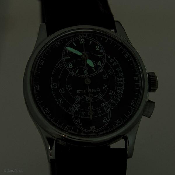 Eterna reloj cronometro restauración y reparación Danafi