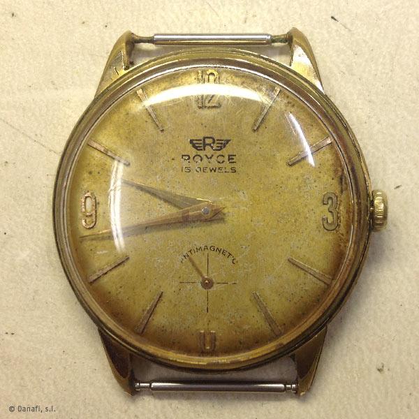 67b12dd6051f Reloj Royce Antimagnetic  Reloj Royce Antimagnetic de caballero ...