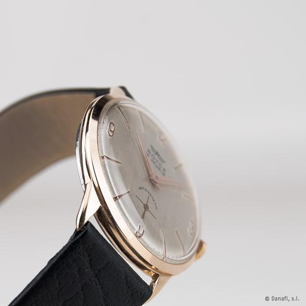 Reloj Royce Antimagnetic de caballero chapado en oro