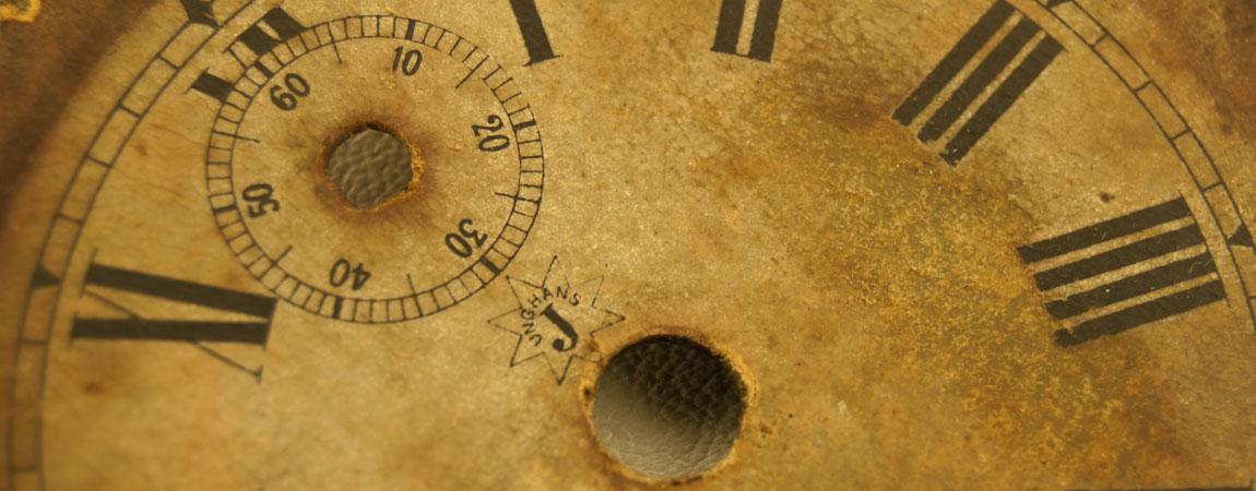 Taller de restauración de relojes