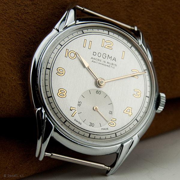 Reparación reloj Dogma Prima. Servicio técnico relojero Dogma
