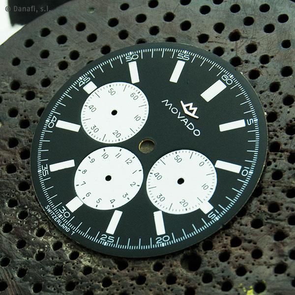 Esfera de reloj Movado Super Sub Sea