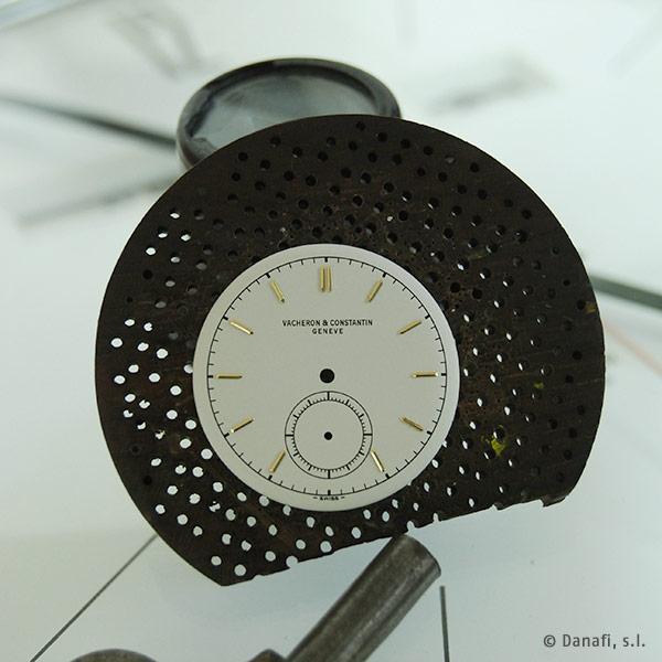 Esfera de reloj Vacheron et Constantin restauración
