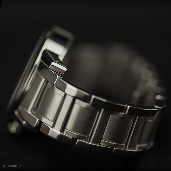 Pulir cadena de acero reloj