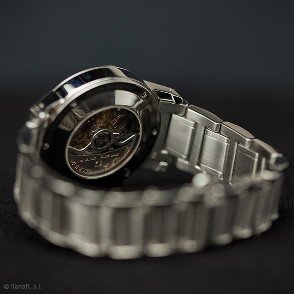 Reparar y pulir caja y cadena reloj acero Zenith El primero