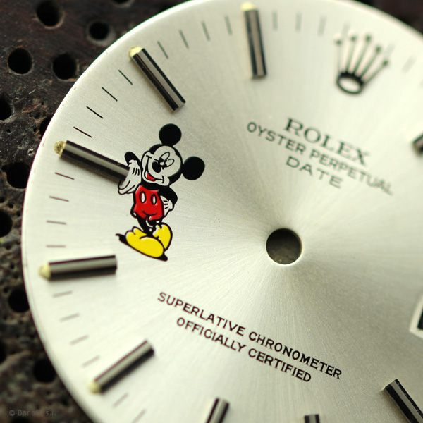 Rolex Oyster Date Mickey Mouse