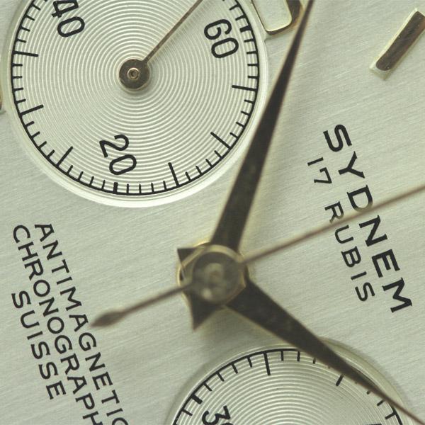 Restauracion reloj chronographe Suisse Sydnem 17 rubis