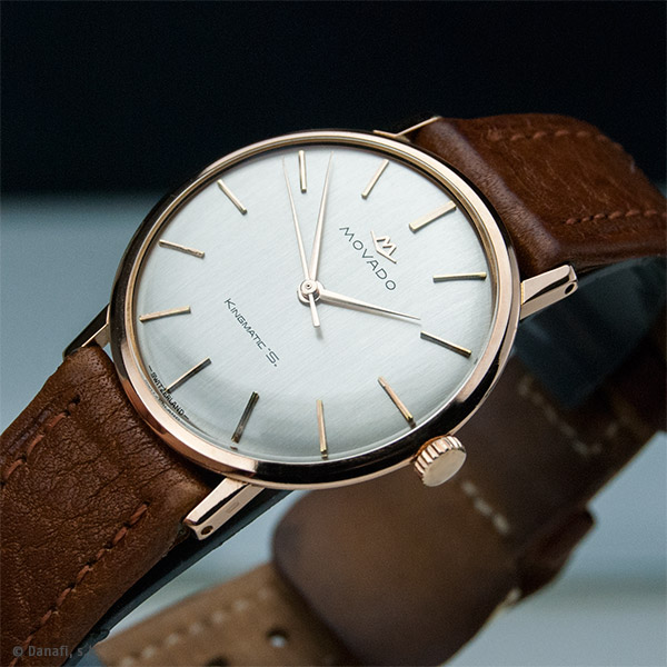 Servicio técnico relojero Movado Kingmatic S Restauracion reloj oro by Danafi