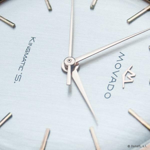 Movado Kingmatic S Restauracion reloj oro by Danafi