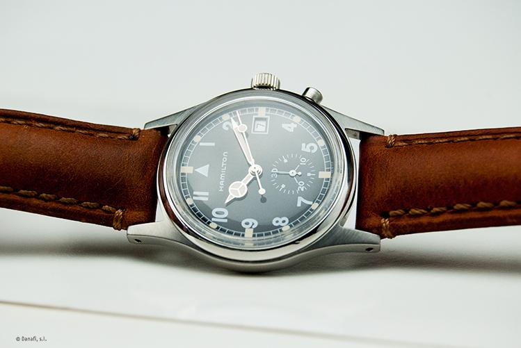 Restauración reloj Hamilton Quartz cronometro