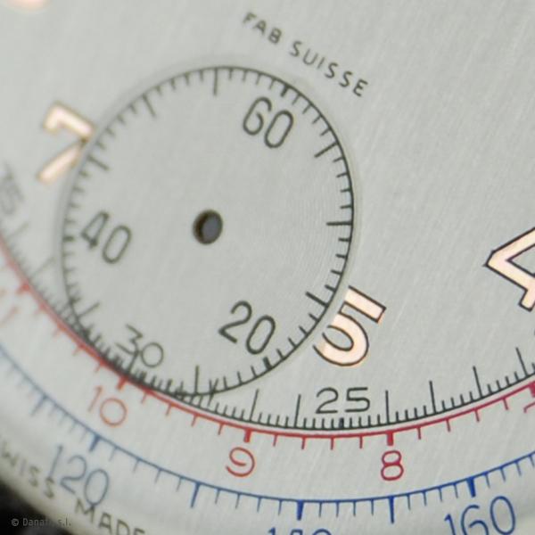 Breitling. Restauración esfera reloj cronometro
