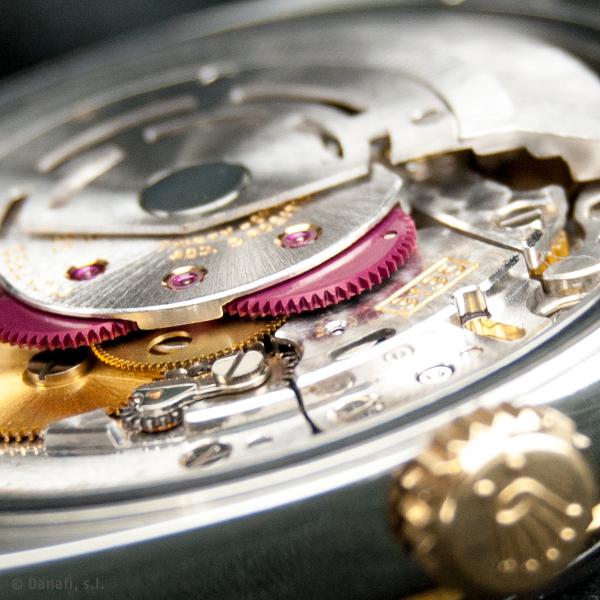 Reparacion y restauracion movimiento reloj Rolex cal. 3135 Danafi Barcelona