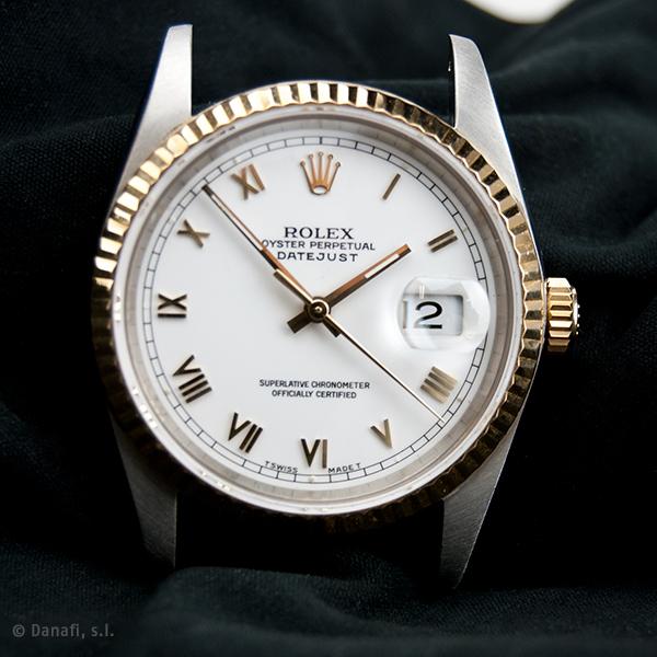 Restauración reloj Rolex. Servicio de mantenimiento, ajuste y puesta a punto calibre 3135
