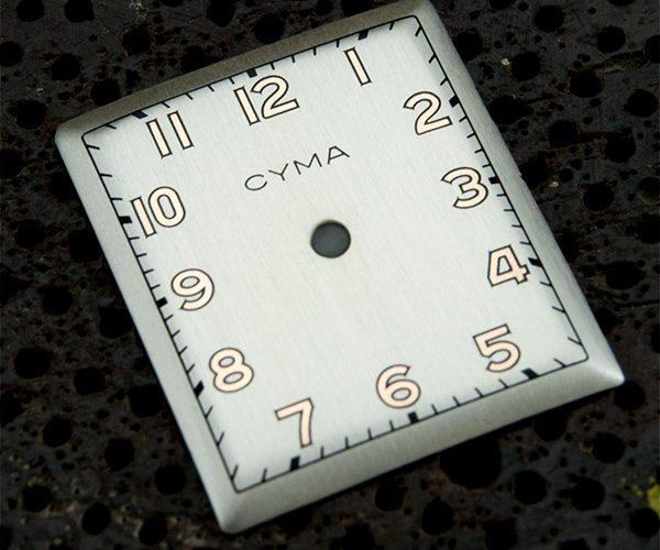 Cyma restaurar esfera reloj a quartz