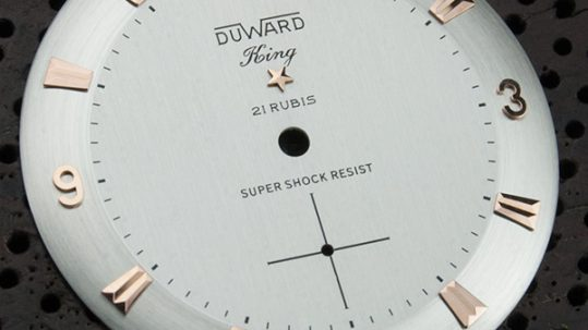 Duward restauración esfera reloj doble tono