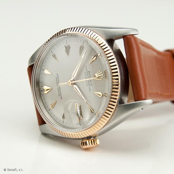 Restauraación y reparación reloj Rolex DateJust Danafi