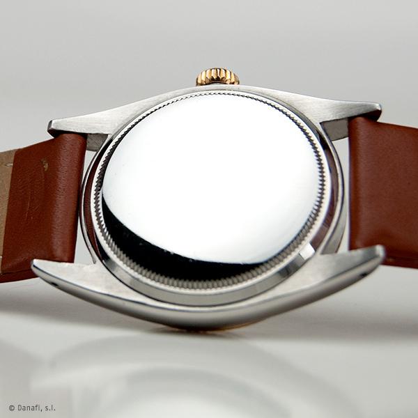 Pulir y restaurar caja de reloj Rolex. Servicio técnico Rolex. Restauraación y reparación reloj Rolex DateJust Danafi
