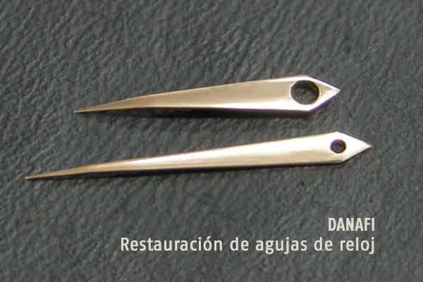 DANAFI Restauración de agujas y saetas de reloj