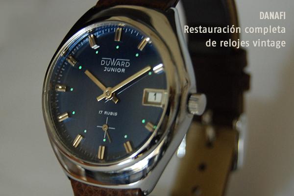 DANAFI Restauración completa de relojes vintage