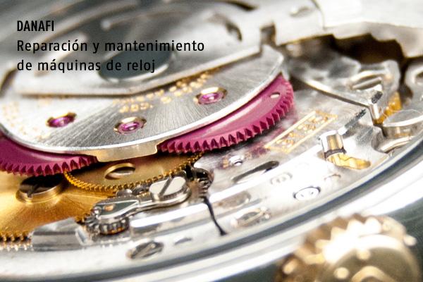 Reparar, revisión y mantenimiento máquina de reloj