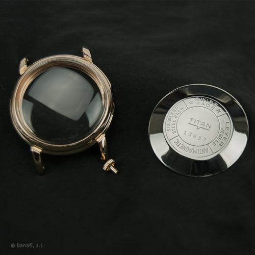 Reparación, restauración y chapado de caja de reloj Danafi