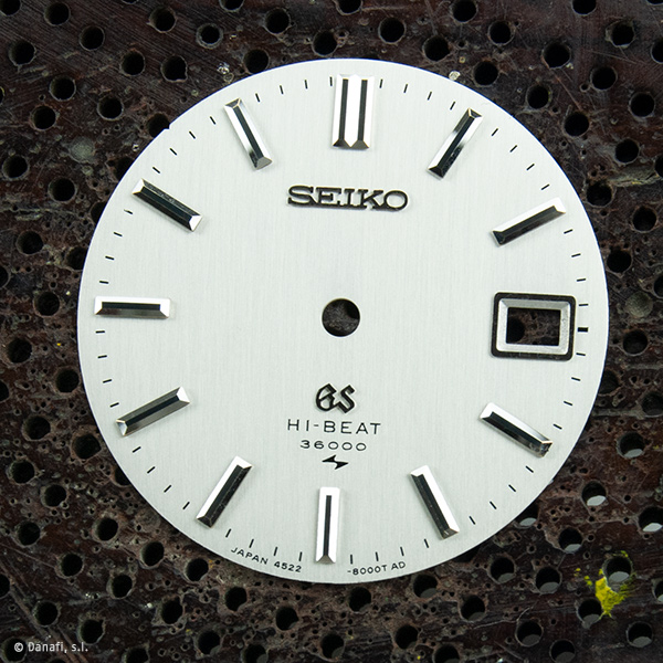 Grand Seiko Hi Beat 36000 watch dial restoration Danafi