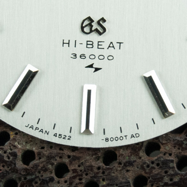 Grand Seiko Hi Beat 36000 watch dial restoration Danafi. Japan 4522 - 8000T AD